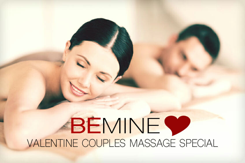 Valentine Couples Massage Special